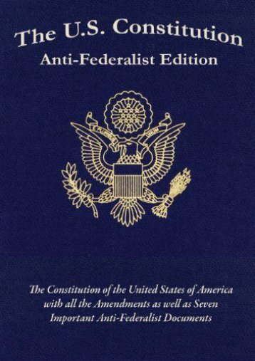 Full Download The U.S. Constitution: Anti-Federalist Edition -  Populer ebook - By Samuel Adams