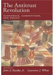 Full Download The Antitrust Revolution: Economics, Competition, and Policy -  Populer ebook - By