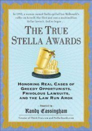 Read PDF The True Stella Awards -  Unlimed acces book - By Randy Cassingham