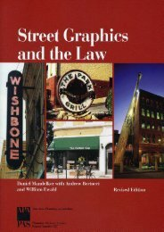 Unlimited Read and Download Street Graphics And The Law -  Online - By Daniel R. Mandelker