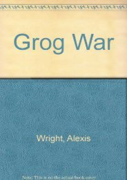 [Free] Donwload Grog War -  For Ipad - By Alexis Wright