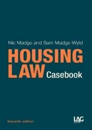 Unlimited Read and Download Housing Law Casebook -  For Ipad - By Nic Madge