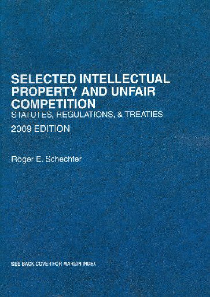 understanding unfair competition in intellectual property Intellectual property and unfair competition in a nutshell this study guide provides an understanding of the creation of specific intellectual property rights as well as the determination of a commercial wrong.
