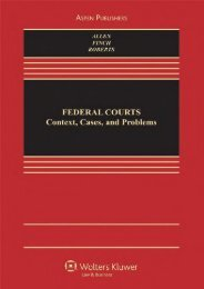 Download Ebook Federal Courts: Context, Cases, and Problems (Law   Business) -  For Ipad - By Ronald Jay Allen