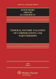 Download Ebook Federal Income Taxation of Corporations and Partnerships (Aspen Casebook) -  For Ipad - By Richard Doernberg