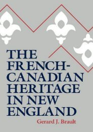 Read PDF French-Canadian Heritage in New -  For Ipad - By Brault