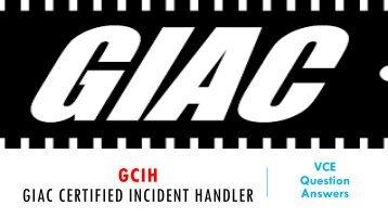 GCIH VCE