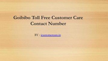 Goibibo Toll Free Customer Care Contact Number