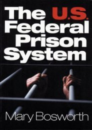 Unlimited Read and Download The U.S. Federal Prison System -  Best book - By Mary F. Bosworth