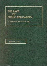 Unlimited Ebook The Law of Public Education 4 (University Casebook Series) -  Online - By E EDMUND REUTTER JR
