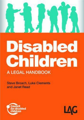 Read PDF Disabled Children: A Legal Handbook -  For Ipad - By Steve Broach