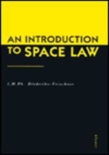Download Ebook An Introduction to Space Law -  Populer ebook - By I. Diederiks-Verschoor
