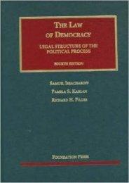 Read PDF The Law of Democracy (University Casebook Series) -  Populer ebook - By Samuel Issacharoff