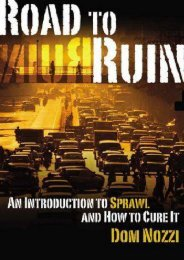 Unlimited Ebook Road to Ruin: An Introduction to Sprawl and How to Cure it -  For Ipad - By Dom Nozzi