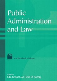 [Free] Donwload Public Administration and Law (ASPA Classics) -  Online - By Julia Beckett
