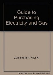 Read PDF Guide to Purchasing Electricity and Gas -  Unlimed acces book - By Paul R. Cunningham