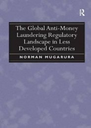 [Free] Donwload The Global Anti-Money Laundering Regulatory Landscape in Less Developed Countries -  Best book - By Norman Mugarura