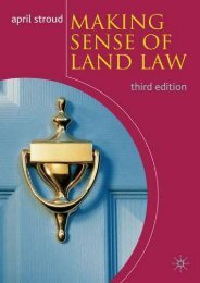 Unlimited Read and Download Making Sense of Land Law -  Online - By April Stroud