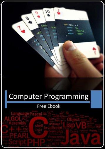 Computer Programming Free Ebook