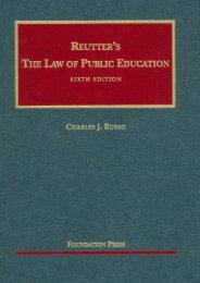 Read PDF Reutter s the Law of Public Education, 6th (University Casebook Series) -  Unlimed acces book - By Charles J. Russo