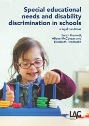 Unlimited Ebook Special Educational Needs and Disability Discrimination in Schools: A Legal Handbook -  Online - By Sarah Hannett