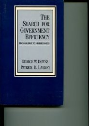Full Download The Search for Government Efficiency: From Hubris to Helplessness -  Unlimed acces book - By George W.; Larkey, Patrick D. Downs