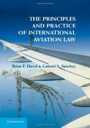 Unlimited Ebook The Principles and Practice of International Aviation Law -  Best book - By Brian F. Havel
