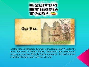 Ethiopian Tourism