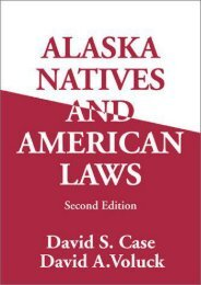 Full Download Alaska Natives   American Laws -  Online - By David Case
