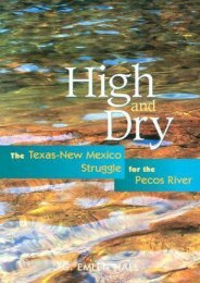 Read PDF High and Dry: The Texas-New Mexico Struggle for the Pecos River -  Online - By G.E. Hall