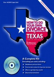 Best PDF How to Do Your Own Divorce in Texas -  [FREE] Registrer - By Ed Sherman