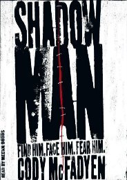Unlimited Read and Download Shadow Man -  Online - By Cody Mcfadyen