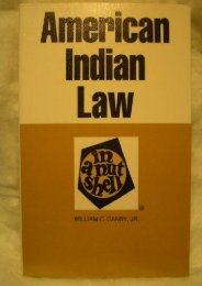 [Free] Donwload American Indian Law in a Nutshell (Nutshell Series) -  [FREE] Registrer - By William C. Canby Jr.