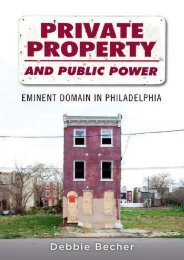 Read PDF Private Property and Public Power: Eminent Domain in Philadelphia -  Best book - By Debbie Becher