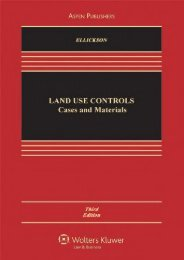 Read PDF Land Use Controls: Cases and Materials, Third Edition (Casebook) -  Unlimed acces book - By Robert C. Ellickson