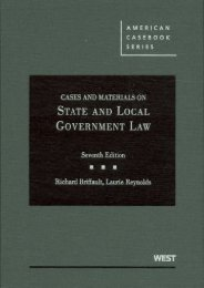 Unlimited Ebook Cases and Materials on State and Local Government Law (American Casebook Series) -  Unlimed acces book - By Richard Briffault