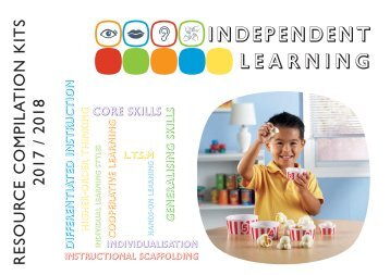 Independent Learning - Resource Kits 2017 - 2018