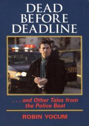 Best PDF Dead Before Deadline: And Other Tales from the Police Beat (Ohio History and Culture) (Ohio History and Culture (Hardcover)) -  Populer ebook - By Robin Yocum