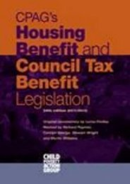 Unlimited Ebook CPAG s Housing Benefit and Council Tax Benefit Legislation -  Unlimed acces book - By Lorna Findlay