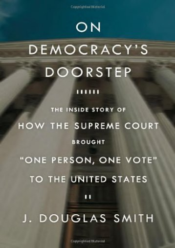 Unlimited Read and Download On Democracy s Doorstep -  [FREE] Registrer - By Douglas