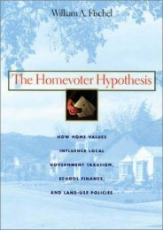 Best PDF The Homevoter Hypothesis: How Home Values Influence Local Government Taxation, School Finance and Land-use Policies -  Unlimed acces book - By William A Fischel