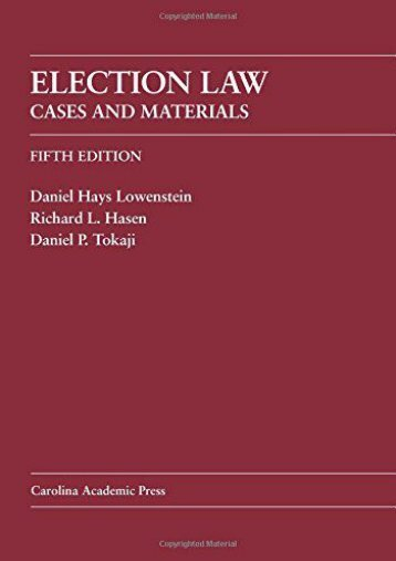 Full download public law text cases and materials 2e populer full download election law cases and materials for ipad by daniel hays lowenstein fandeluxe Images