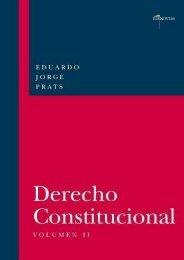 Full Download DERECHO CONSTITUCIONAL, Volumen II -  Populer ebook - By Eduardo JORGE PRATS