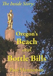 Read PDF Oregon s Beach and Bottle Bills: The Inside Story -  Populer ebook - By Paul A Hanneman
