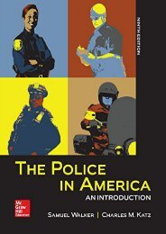 [Free] Donwload The Police in America: An Introduction -  Populer ebook - By Kiewit Professor of Criminal Justice Samuel Walker