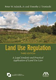 [Free] Donwload Land Use Regulation: A Legal Analysis and Practical Application of Land Use Law -  Unlimed acces book - By Peter W. Salsich