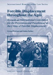 Download Ebook Forcible Displacement Throughout the Ages: Towards an International Convention for the Preventation and Punishment of the Crime of Forcible Displacement (International Humanitarian Law) -  For Ipad - By Grant Dawson