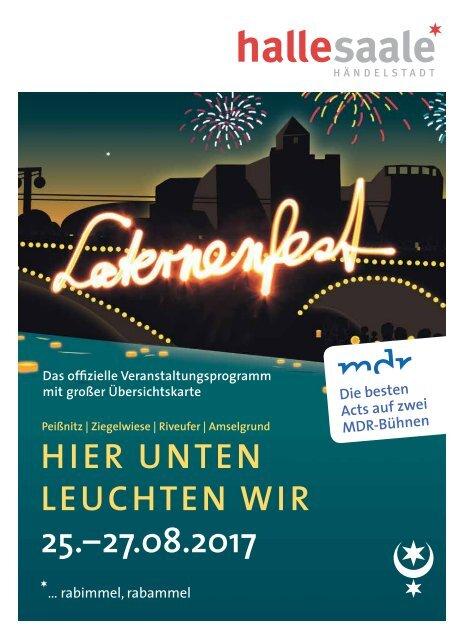 Programm Laternenfest Halle 2017