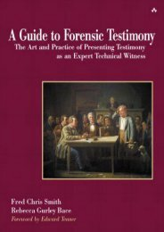 Full Download A Guide to Forensic Testimony: The Art and Practice of Presenting Testimony as an Expert Witness: The Art and Practice of Presenting Testimony as an Expert Technical Witness -  [FREE] Registrer - By Fred Chris Smith