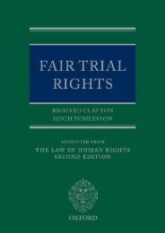 Unlimited Ebook Fair Trial Rights (Law of Human Rights - Supplements Only) -  Best book - By Richard Clayton Q.C.